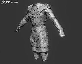 3D model Zbrush Armor