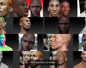 3D NBA Superstars