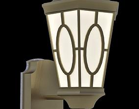 3D asset Wall hung light fixture architectural scene light