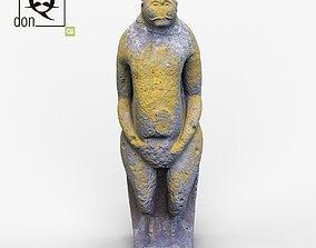 3D model Ancient statue various