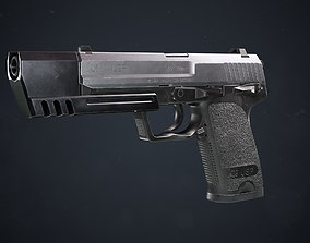 3D model Heckler and Koch USP Match