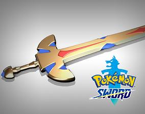 3D print model Pokemon sword