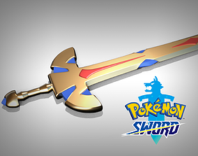 Pokemon sword 3D print model