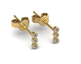 shine Earrings 3D print model