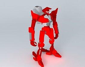 3D model guren mk1