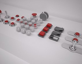 Switches and Buttons 3D