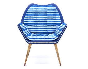 3D Comfortable Modern Chair