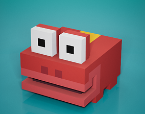 Voxel - Jungle Frog 3D model VR / AR ready