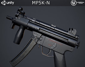 MP5K-N Submachine Gun 3D model