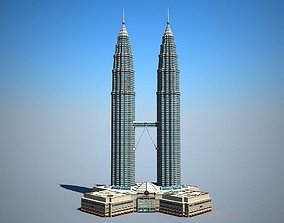 3D Petronas Towers