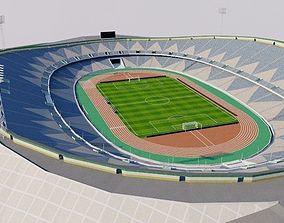 3D model VR / AR ready Azadi Stadium - Iran
