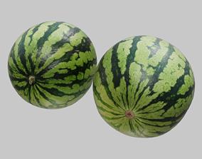 3D model Ultra realistic Watermelon Scan 8k HD
