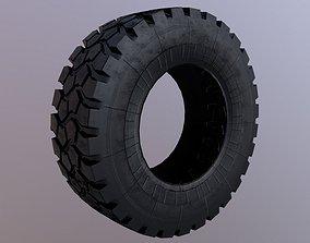 Kamaz rally tire 3D asset