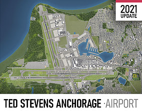 Ted Stevens Anchorage Airport 3D model
