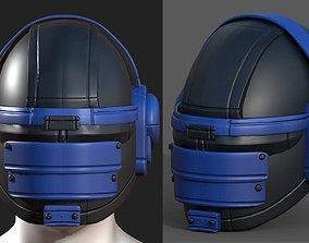 3D model Helmet scifi fantasy futuristic military Scifi