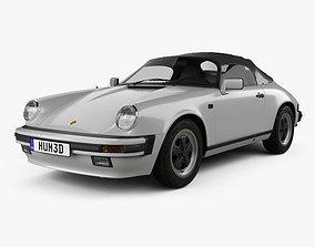 3D Porsche 911 Speedster 1989