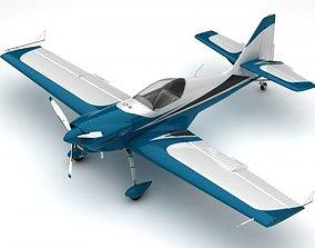 3D model Zlin Z50 LS