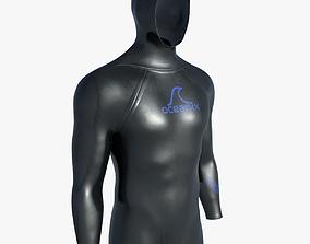 3D model Diving wetsuit