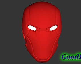 obj Red Hood Helmet 3D print model