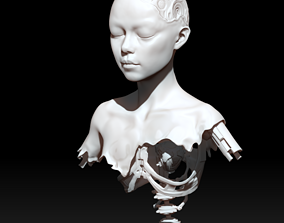 alita battle angel scrap 3D printable model