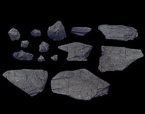 3D asset Volcanic Rock Pack Volume 1