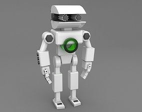 character 3D model low-poly Robot