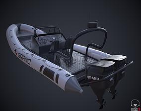 3D model Grand Dinghy Boat