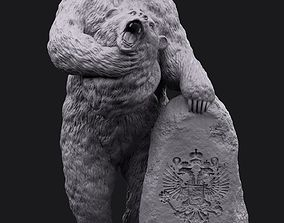The leader of the bear vladimir 3D printable model