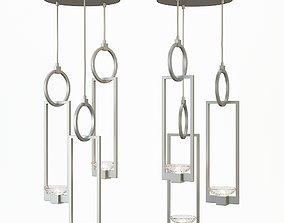 3D Fine Art Lamps Delphi 3 Light Cluster Pendant