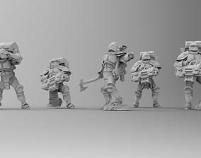 Knights of Roma - Devastation Brotherhood 3D print model