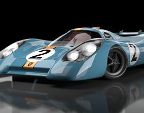 Porsche 917 3D model