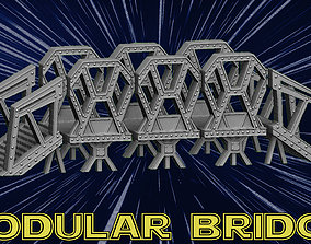 3D printable model Modular Bridge
