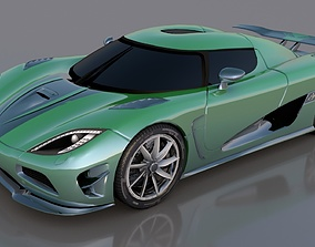 Koenigsegg Agera R 3D model