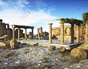 Ancient Ruins 3D model low-poly