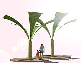 3D model SHADE and SHADOW-banana