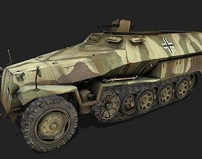 3D model Sd Kfz 251