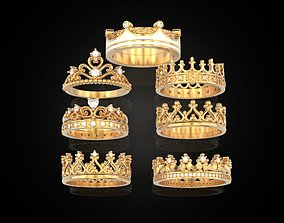 Crown Collection 7 Ring 3D