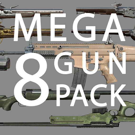 Weapon - Gun - Mega Bundle Pack