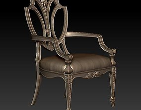 Old chair 3D printable model