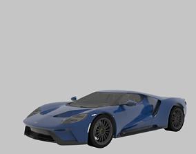 3D model Super Ford Gt