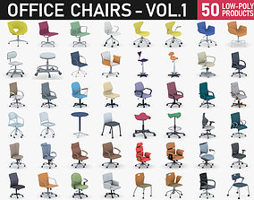 Office Chairs Collection Vol 1 3D asset