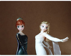 3D print model ELSA ANNA FROZEN2 PACK