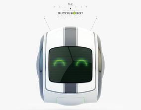 3D model Cute rolling bot toy VI
