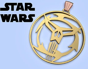 Star Wars Neo crusaders Medallion cosplay 3d model for