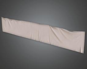 3D model School Banner 02 - CLA - PBR Game Ready