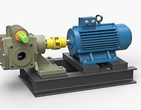 3D model Pump gear