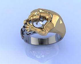 3D printable model Panthera Ring
