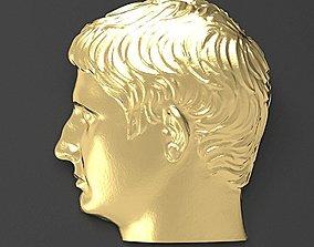 Emperor Augustus pendant 3D printable model