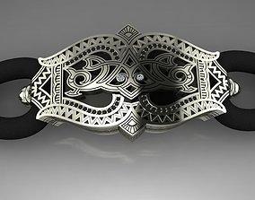 3D printable model Bracelet with ornament
