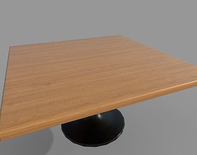 3D asset game-ready Dinning Table